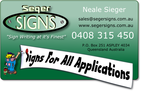 Seger Signs e-card